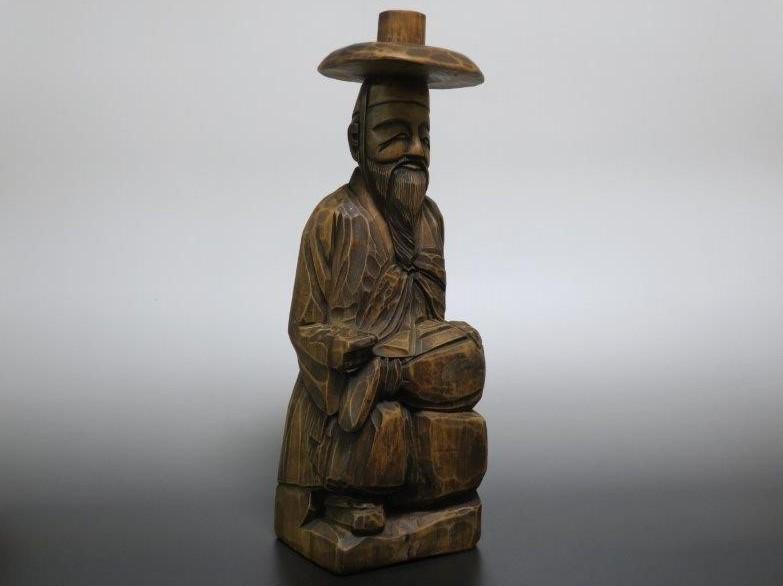 仙遊洞 木彫 両班像